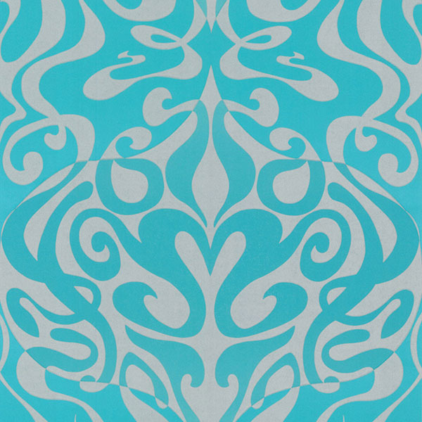 Cole & Son Wallpaper - New Contemporary II - Woodstock in Aqua