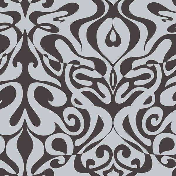 Cole & Son Wallpaper- New Contemporary II - Woodstock in Silver