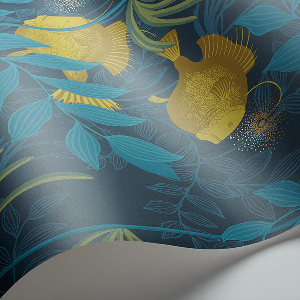 Cole & Son - Whimsical - Nautilus in Dark Blue