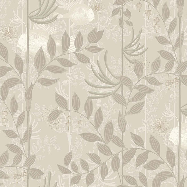 Cole & Son - Whimsical - Nautilus in Neutral & Silver