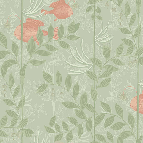 Cole & Son - Whimsical - Nautilus in Soft Green