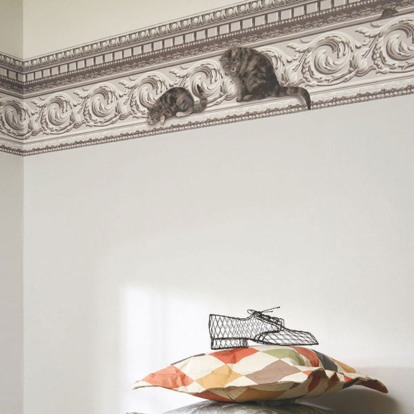 Cole & Son - Whimsical - Paddy & Louis Border Wallpaper