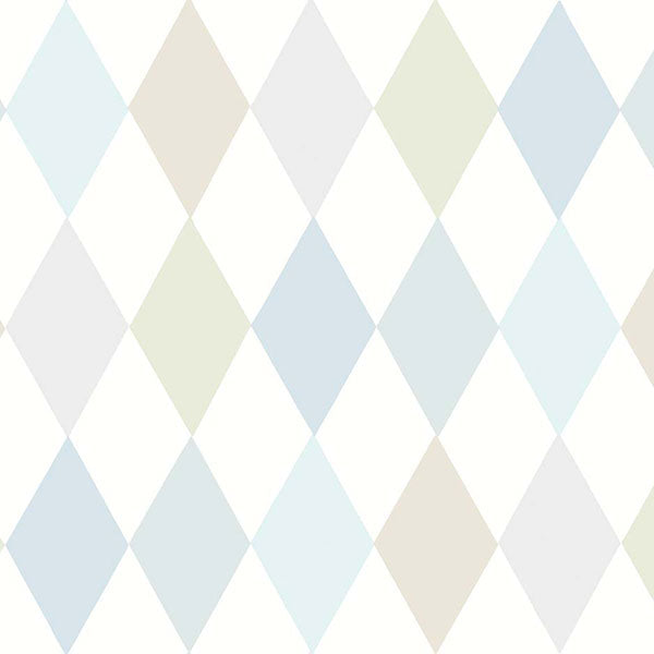 Cole & Son - Whimsical - Punchinello in Soft Blue