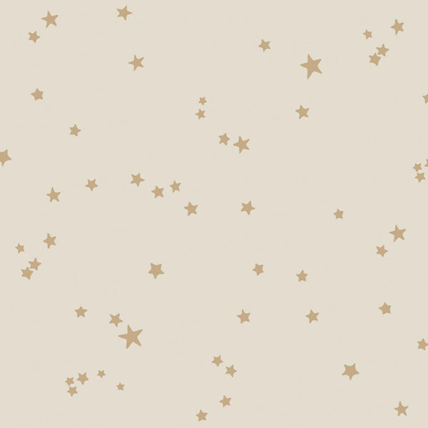 Cole & Son - Whimsical - Stars in Buff & Gold