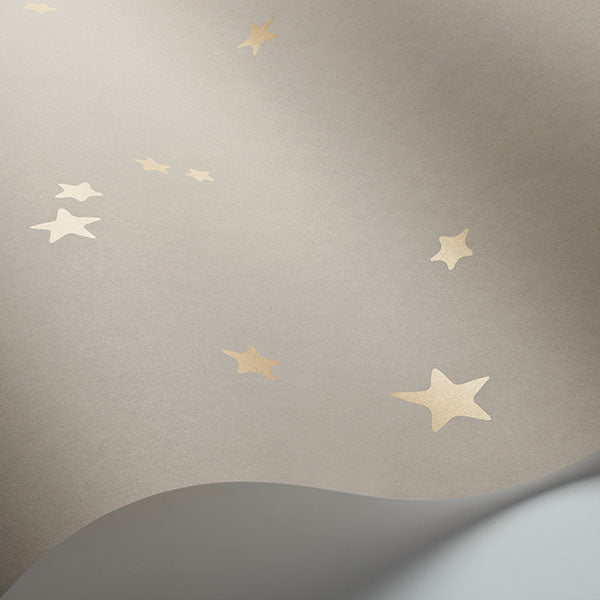 Cole & Son - Whimsical - Stars in Linen & Gold