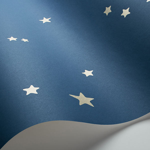 Cole & Son - Whimsical - Stars in Midnight Blue