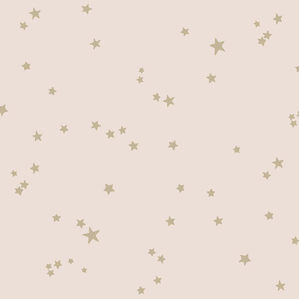 Cole & Son - Whimsical - Stars in Pink & Gold
