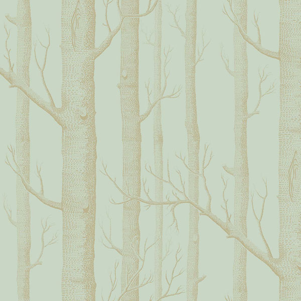 Cole & Son - Whimsical - Woods in Green & Gold