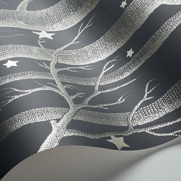 Cole & Son - Whimsical - Woods & Stars - Charcoal