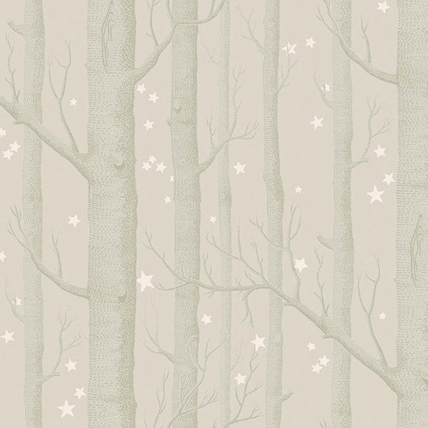 Cole & Son - Whimsical - Woods & Stars - Grey