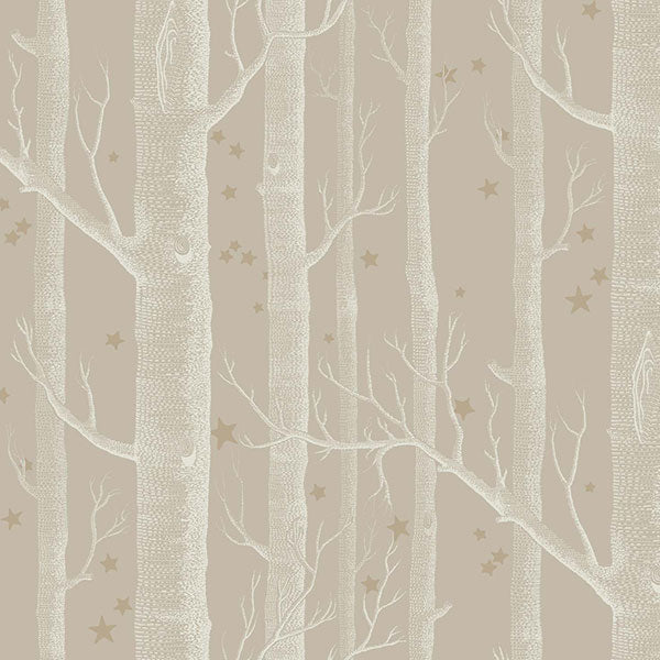 Cole & Son - Whimsical - Woods & Stars - Linen