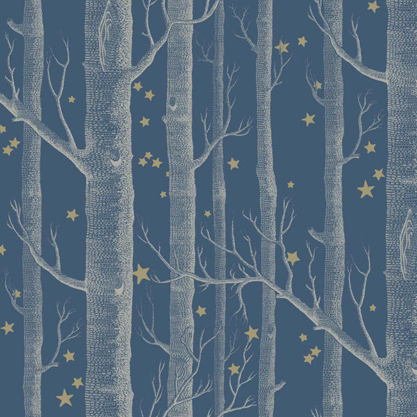 Cole & Son - Whimsical - Woods & Stars - Midnight