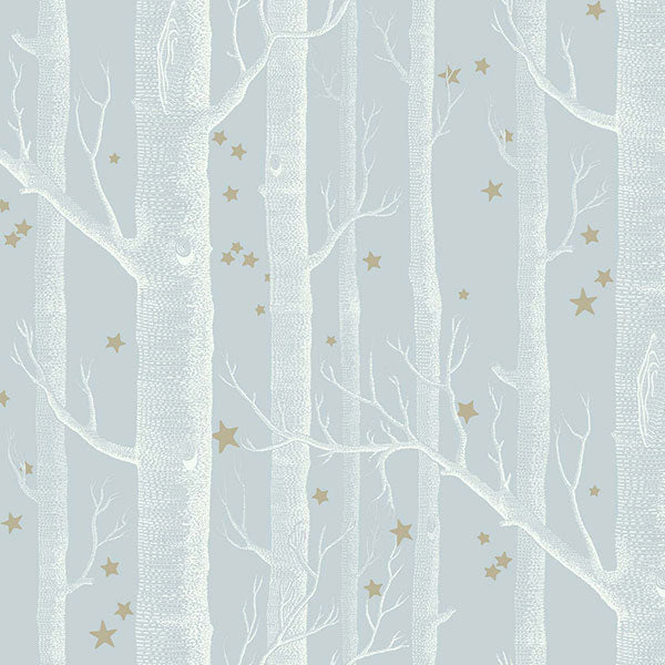 Cole & Son - Whimsical - Woods & Stars - Powder Blue
