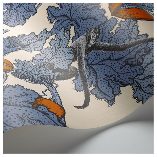 Cole & Son - Fornasetti Frutto Probioto - Cerulean / Orange