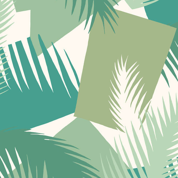 Cole & Son - Geometric II - Deco Palm - Vertigo Home