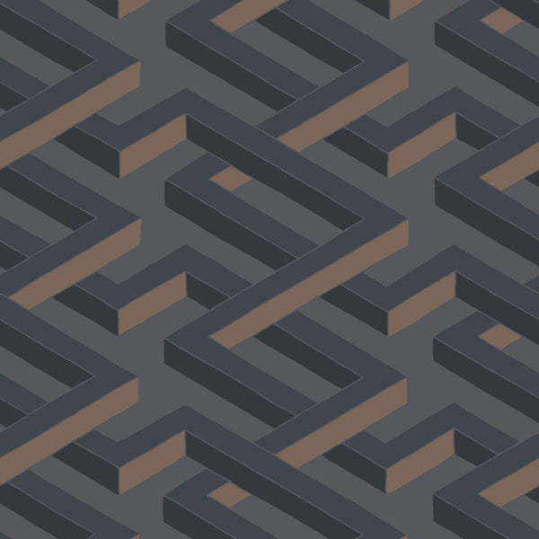 Cole & Son - Geometric II - Luxor - Vertigo Home