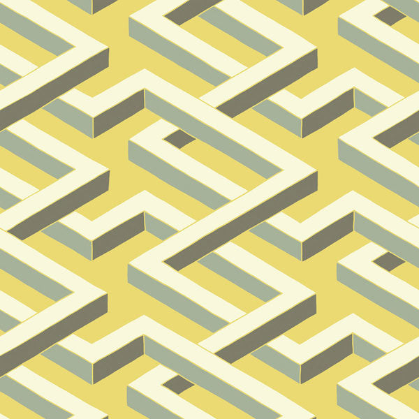 Cole & Son - Geometric II - Luxor at www.vertigohome.us