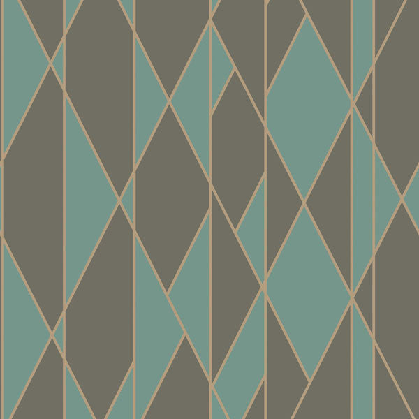 Cole & Son - Geometric II - Oblique at www.vertigohome.us