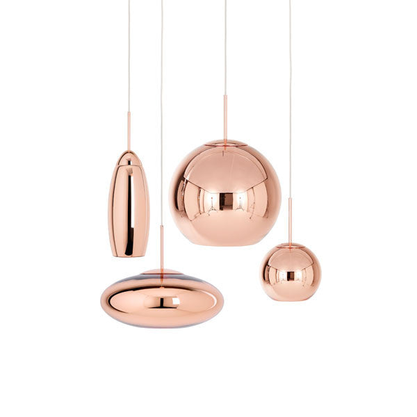 Copper Round 45cm Pendant - Tom Dixon - Vertigo Home
