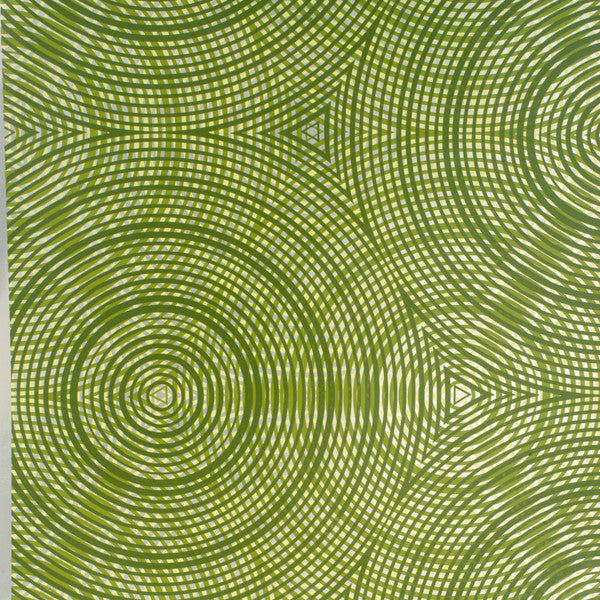 Cycloid - Artichoke on Silver Mylar Wallpaper by Flavor Paper - Vertigo Home