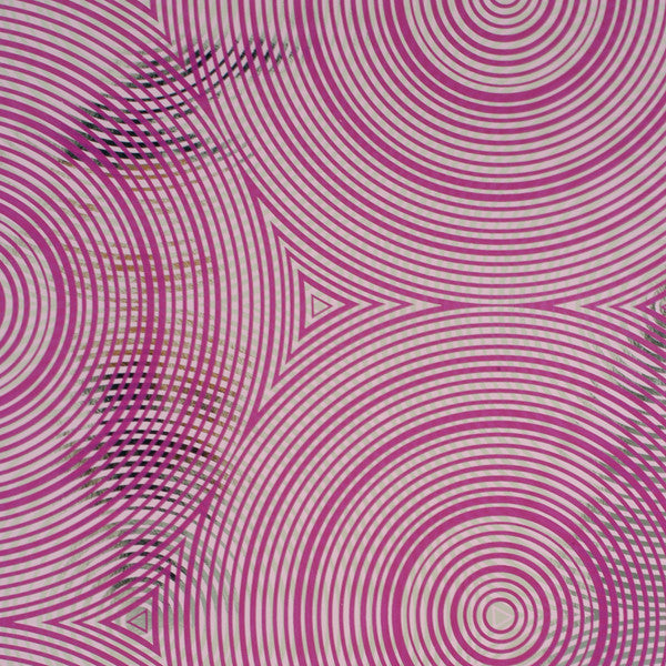 Cycloid - Raddichio on Chrome Mylar Wallpaper by Flavor Paper - Vertigo Home