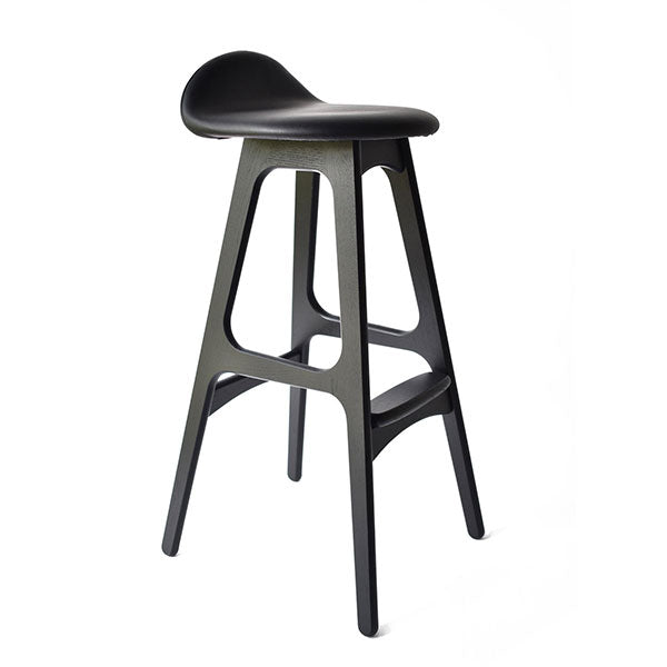 Erik Buch Model 61 Black Oak Stool