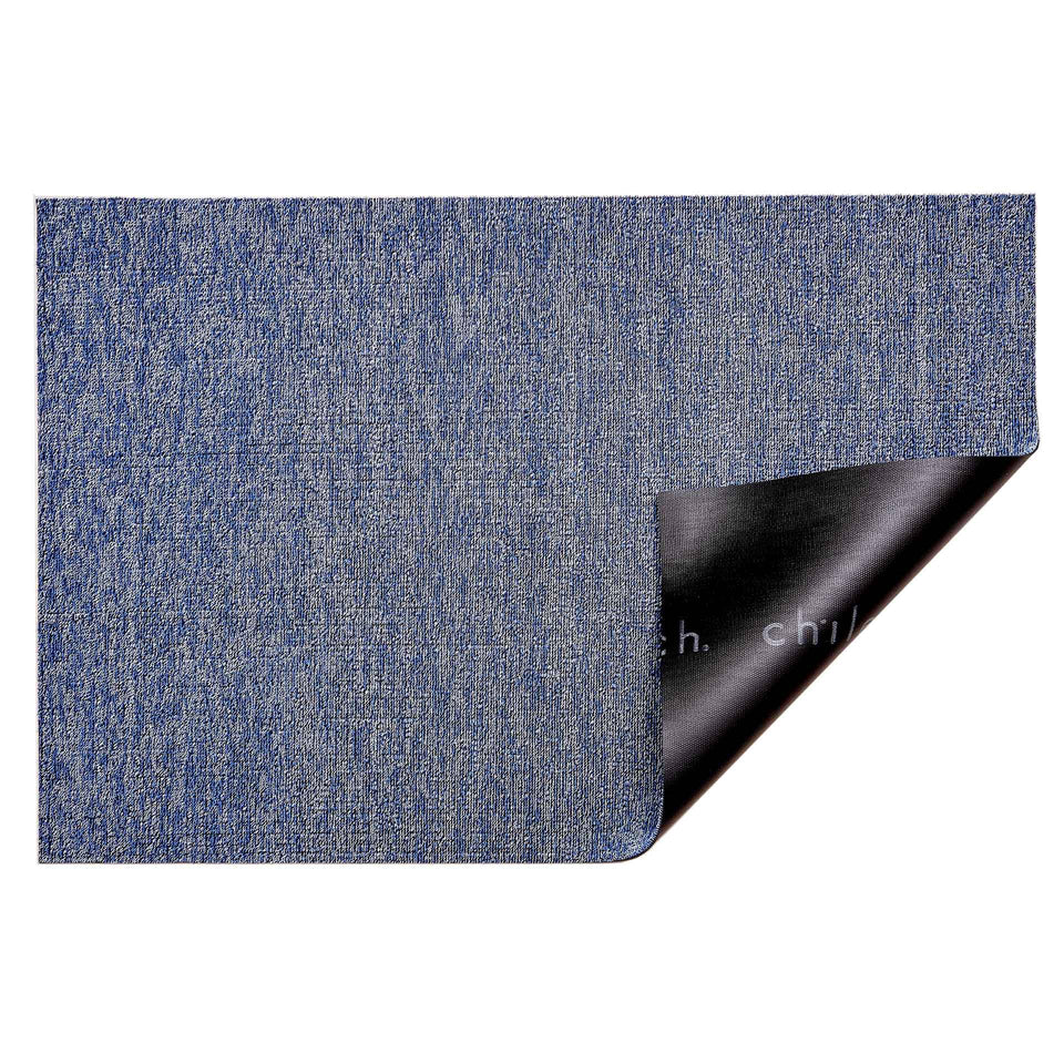 Cornflower Heathered Shag Mat by Chilewich