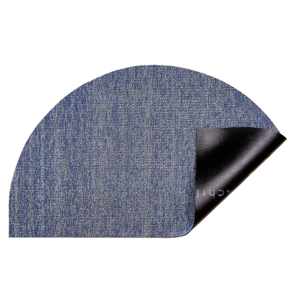 Cornflower Heathered Welcome Shag Mat by Chilewich