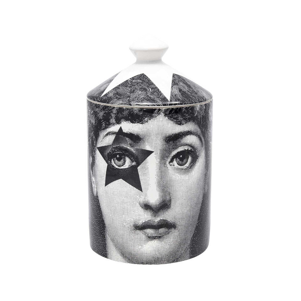 Star Lina Lidded Candle by Fornasetti