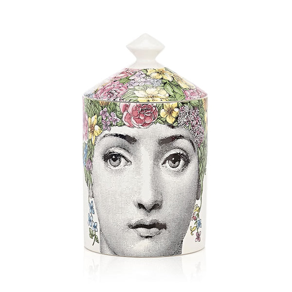 Flora Lidded Candle by Fornasetti