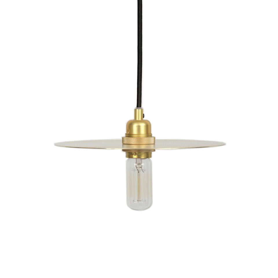 Circle Shade Pendant Lamp Brass by Frama