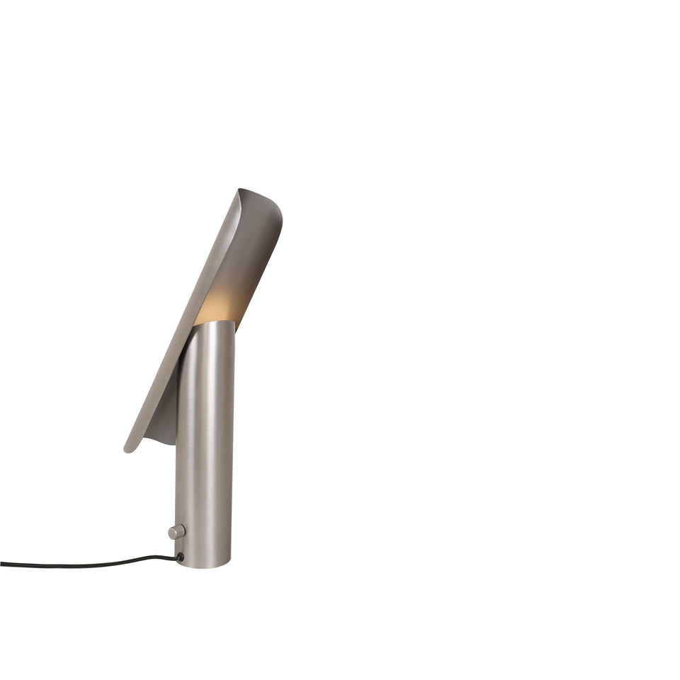 Brushed Steel T Table Lamp by Frama