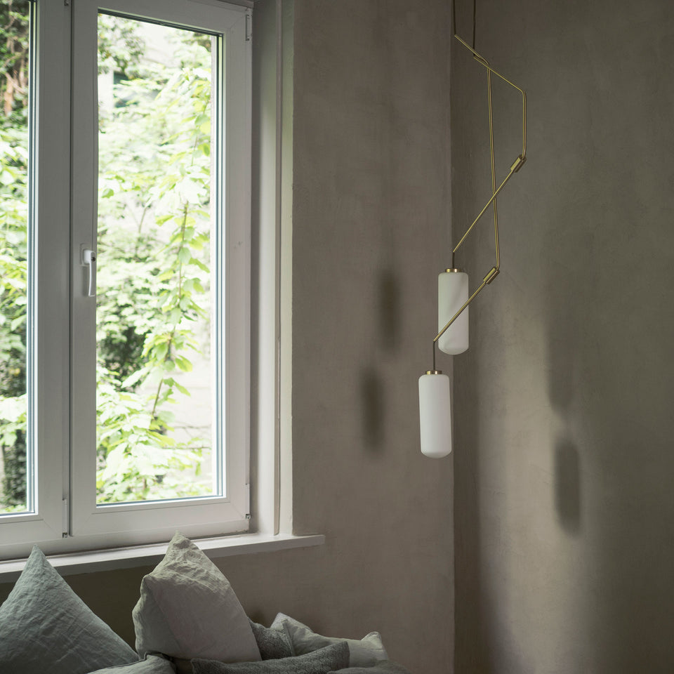 Ventus Pendant Lamp Form 2 by Frama