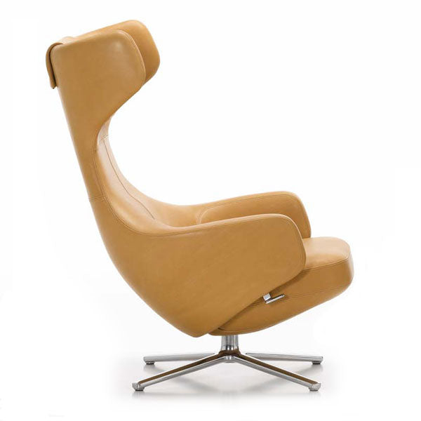 Leather Grand Repos Lounge Chair by Antonio Citterio for Vitra - Vertigo Home