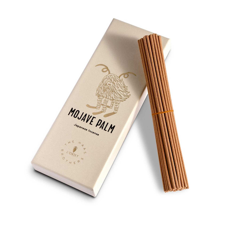 Mojave Palm Incense (60 sticks) by Haas Brothers + L'Objet