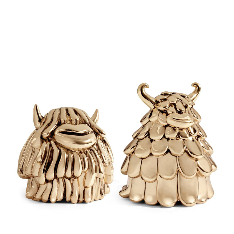 Niki + Simon Salt & Pepper Shakers by Haas Brothers + L'Objet