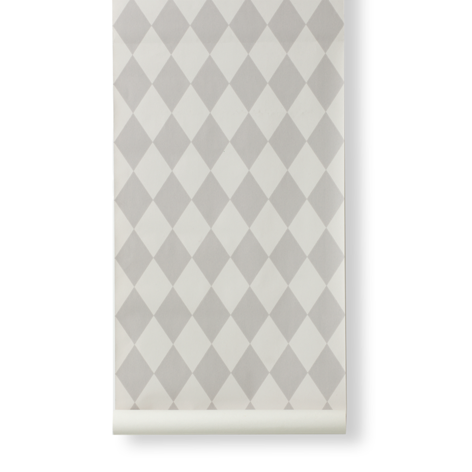 Harlequin Wallpaper - Grey - by Ferm Living