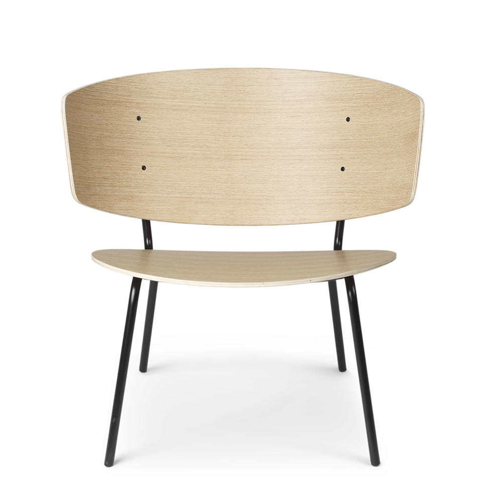 Herman Lounge Chair Natural Oak by Ferm Living