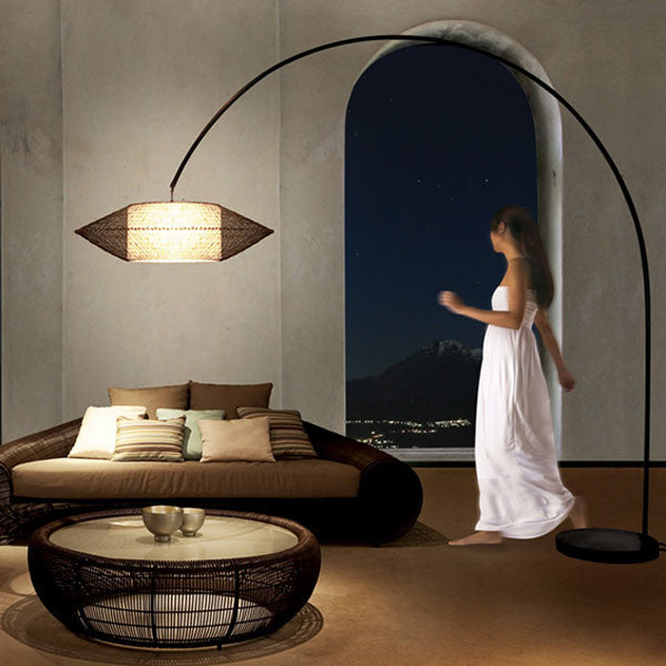 Kai Arc Lamp Large by Kenneth Cobonpue for Hive - Vertigo Home