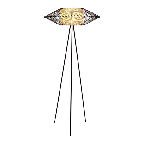 Kai Tripod Lamp Large by Kenneth Cobonpue for Hive - Vertigo Home