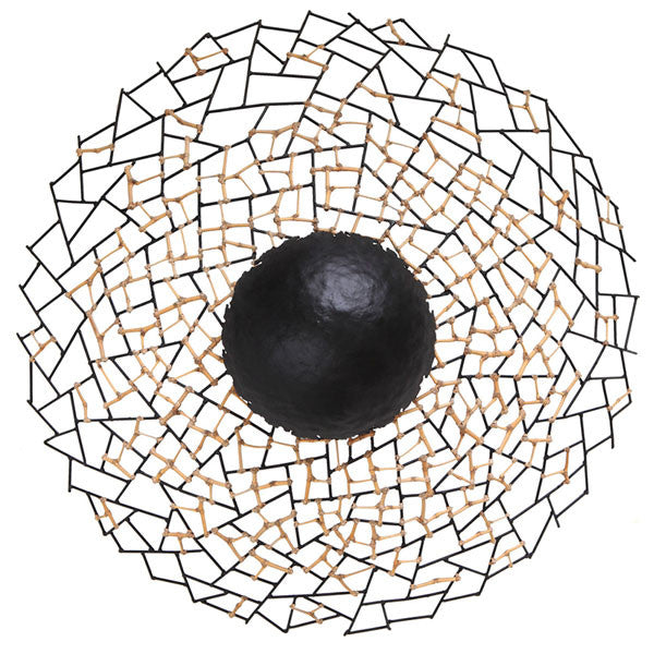 Kris Kros Wall Lamp Extra Large by Kenneth Cobonpue for Hive - Vertigo Home