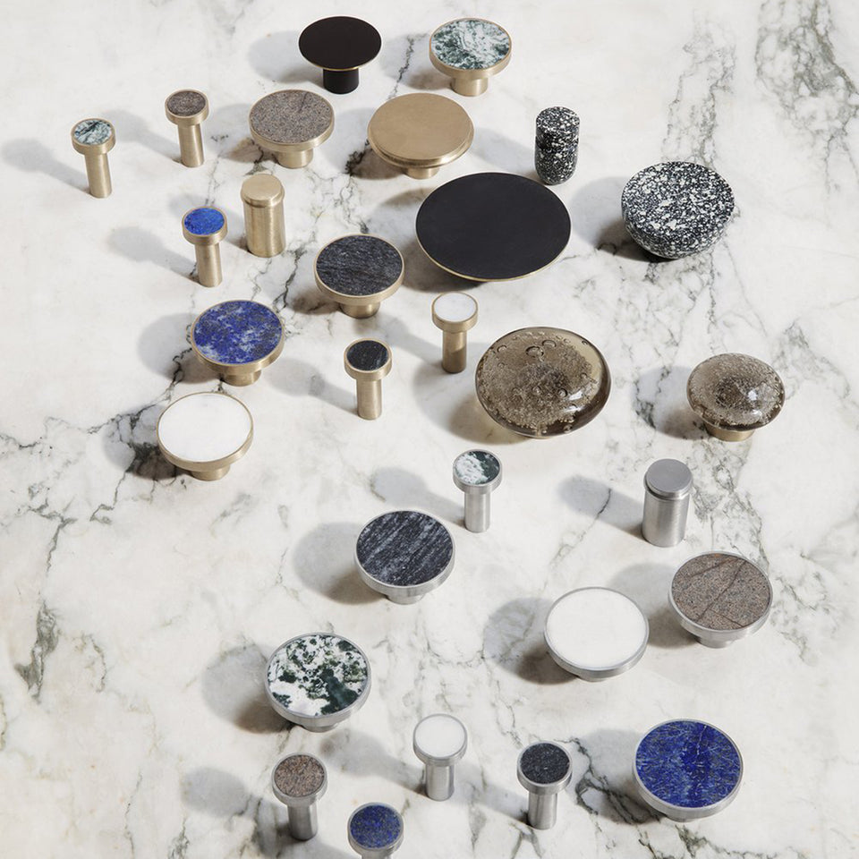 Hook Stone Blue Lapis Lazuli by Ferm Living