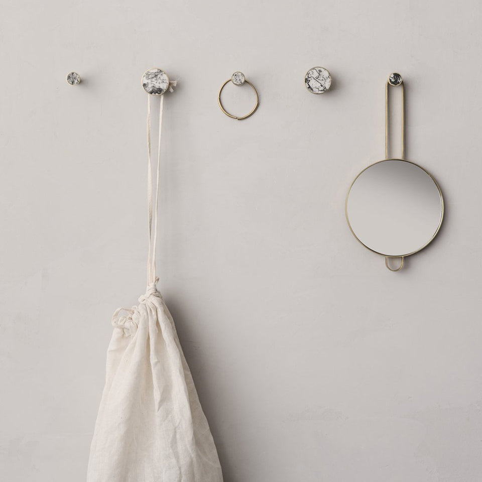 Hook Stone White Marble by Ferm Living