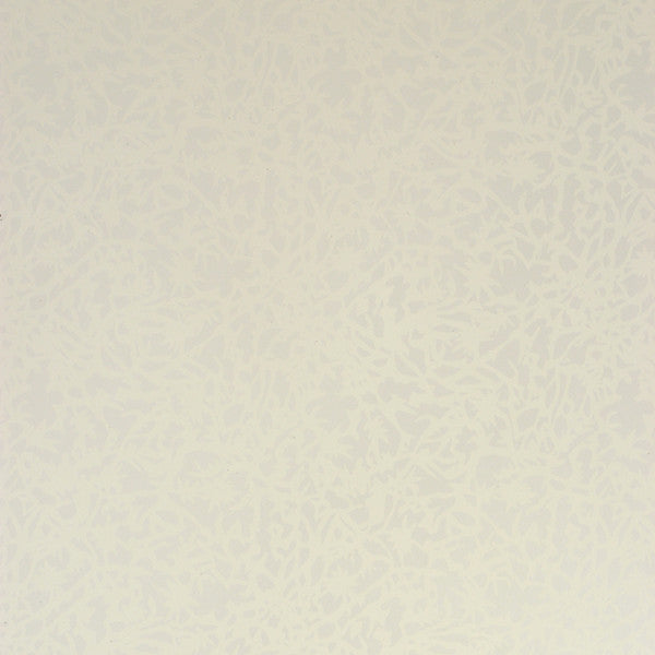 Huton - Marshmallow on White Mylar Wallpaper by Flavor Paper - Vertigo Home