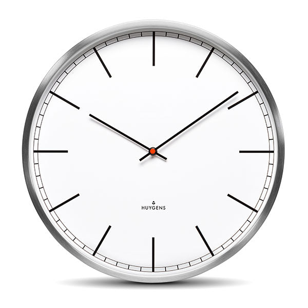 One 25 Index Wall Clock by Huygens