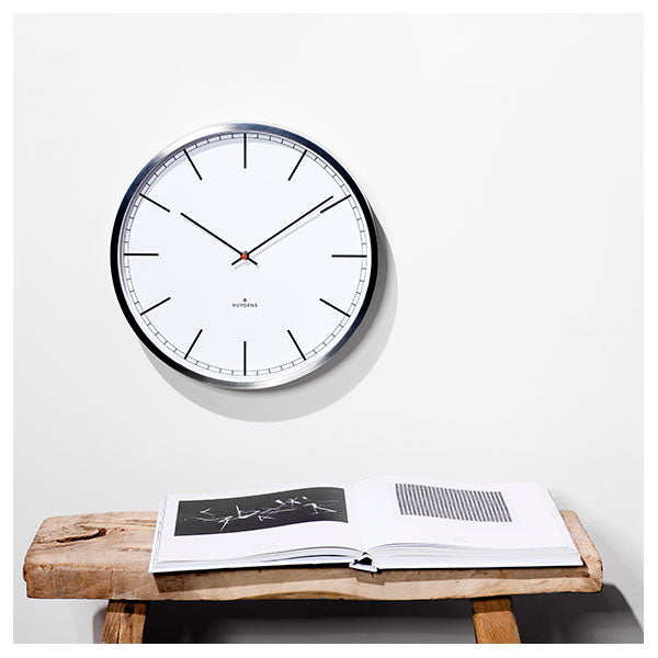One 35 Index Wall Clock by Huygens