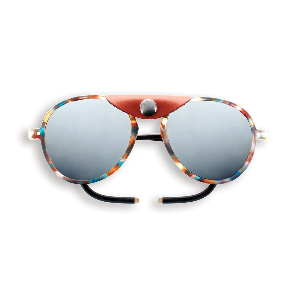 Blue Tortoise #SUN Glacier Plus Sunglasses by Izipizi