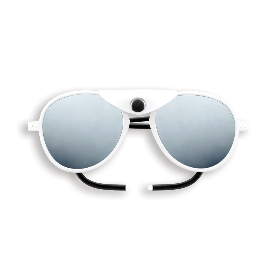Full White #SUN Glacier Plus Sunglasses by Izipizi