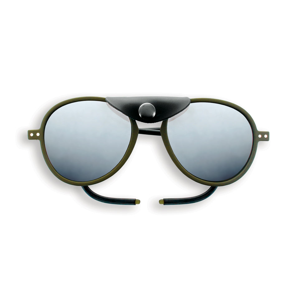 Kaki #SUN Glacier Plus Sunglasses by Izipizi