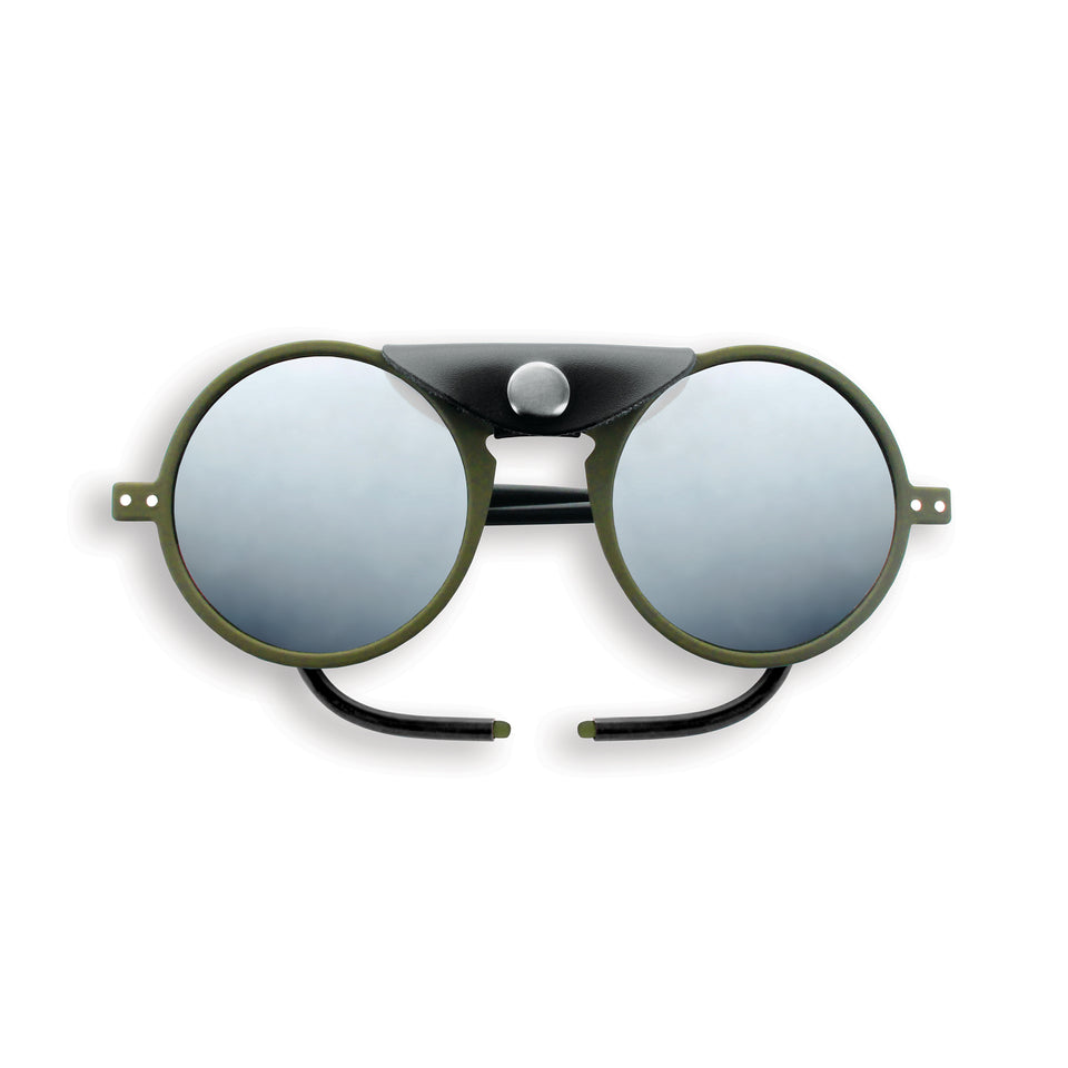 Kaki Green #SUN Glacier Sunglasses by Izipizi